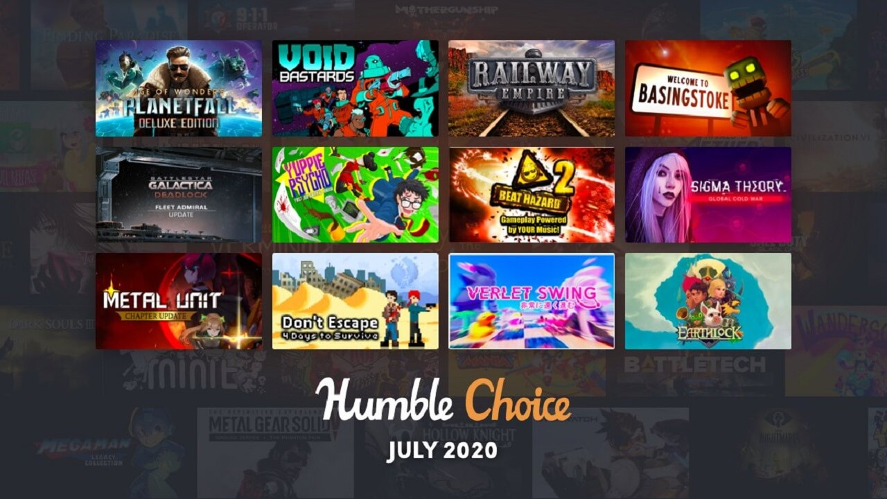 Humble Choice July 2020 Games Revealed
