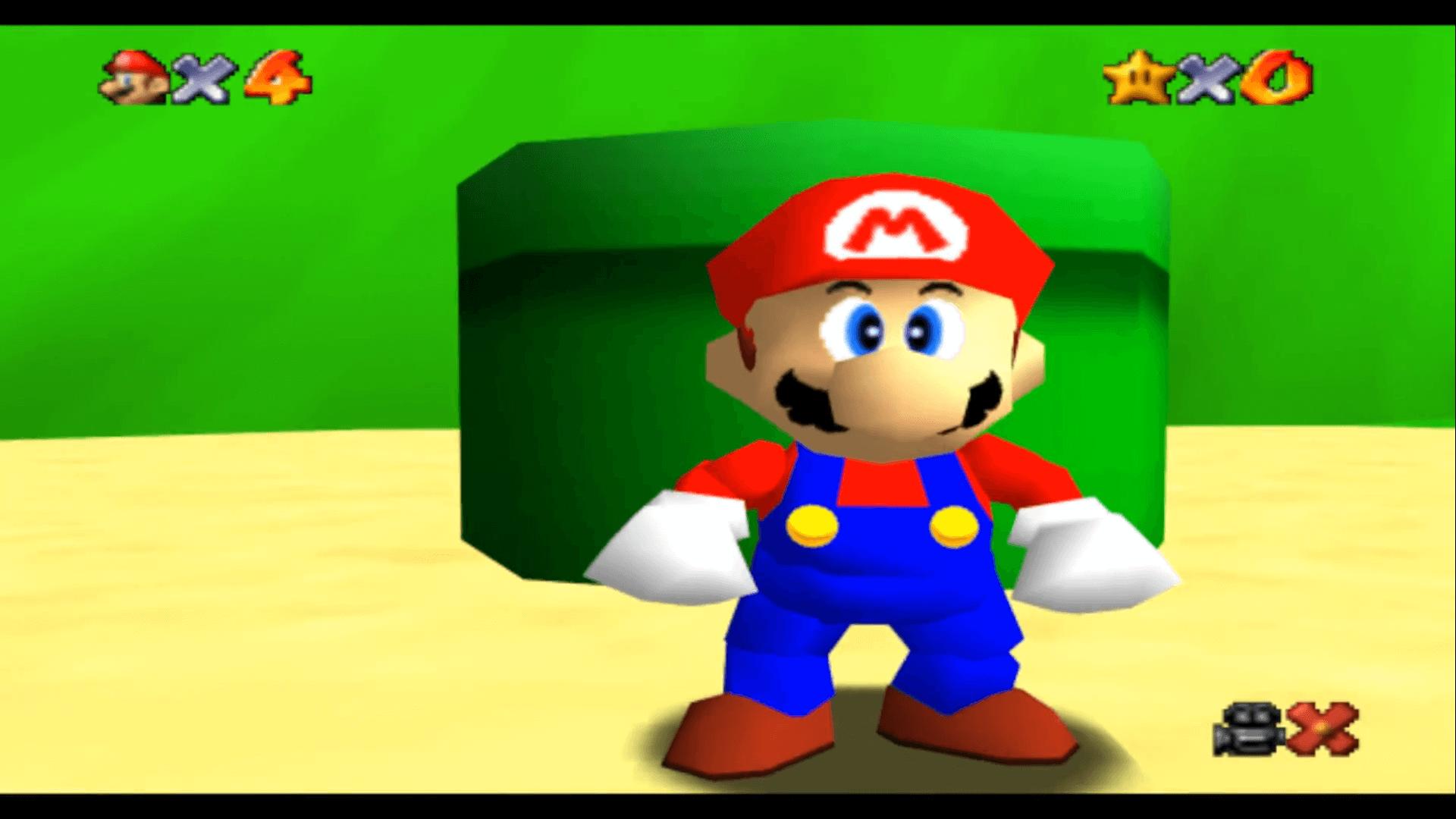 Luigi Found In Super Mario 64 After 24 Years