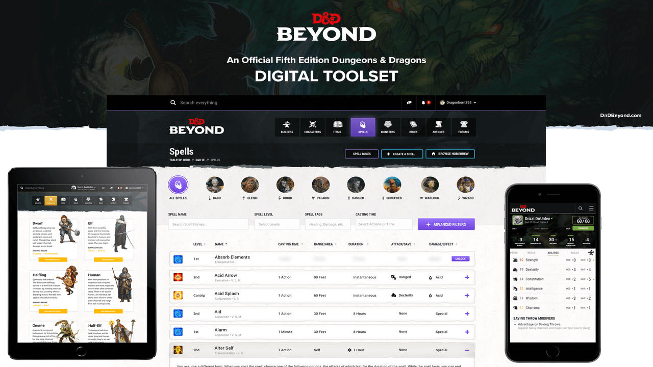 D&D Beyond Is Going Mobile