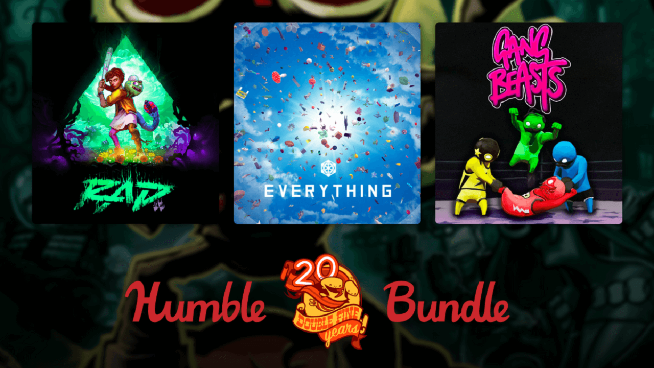 Humble Double Fine Anniversary Bundle is Now Available