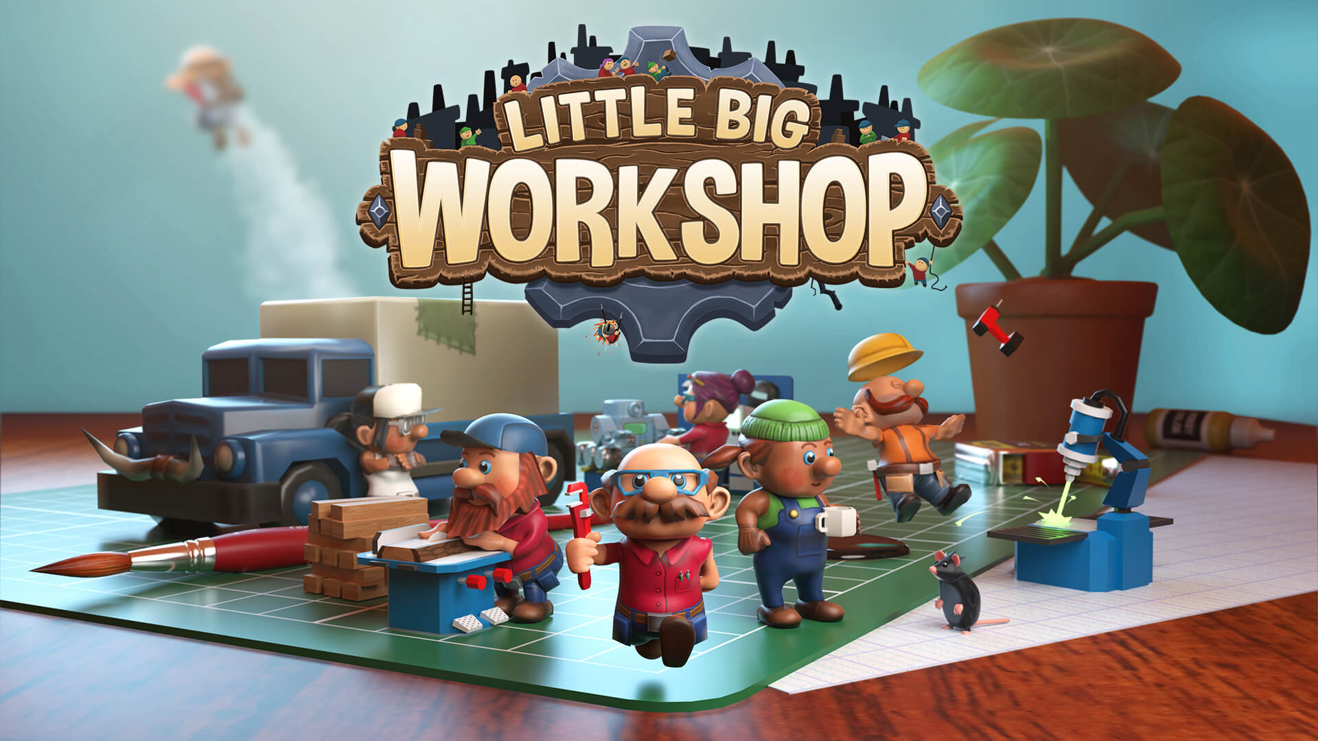 Sim Little Big Workshop Coming to Xbox One