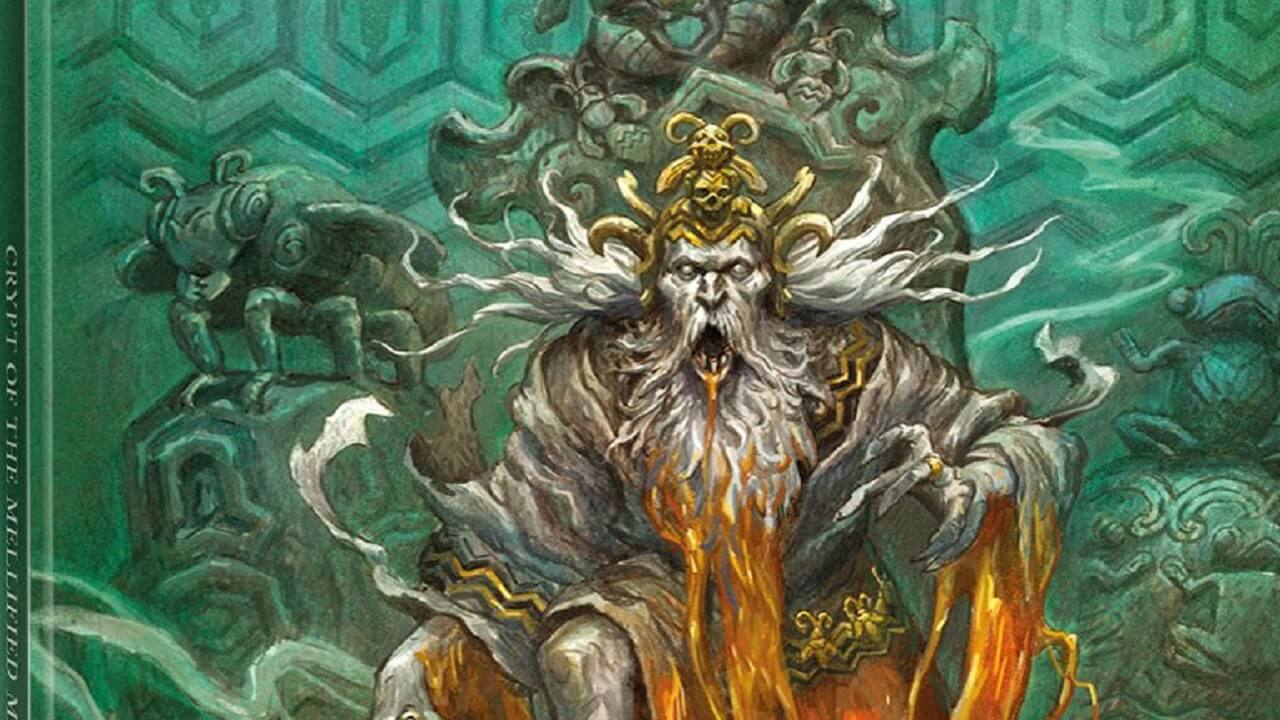Crypt of the Mellified Mage Module Released for Forbidden Lands