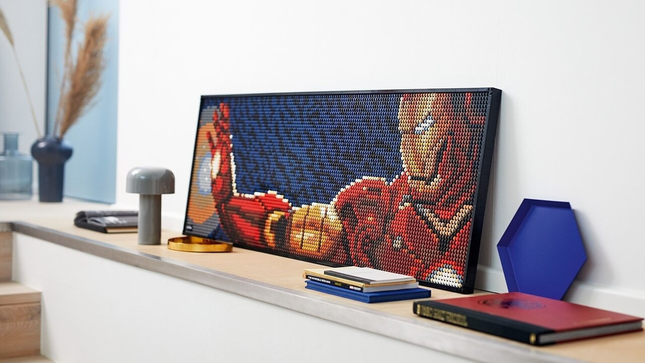 New Lego Art Sets, Including Iron Man, Release As Soon As Tomorrow