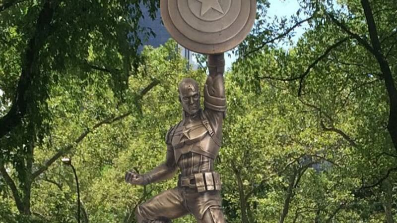 The First Avenger Statue