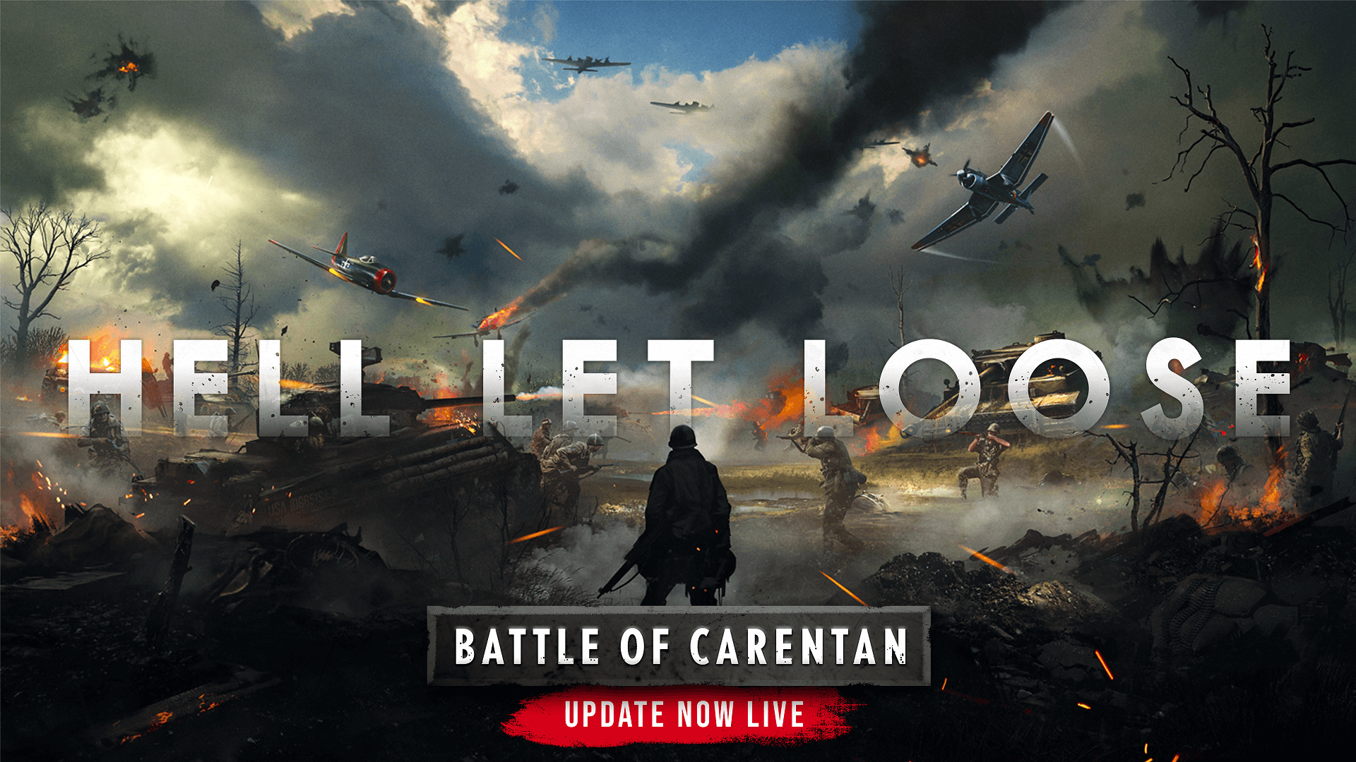 Hell Let Loose: Battle of Carentan Is Now Available