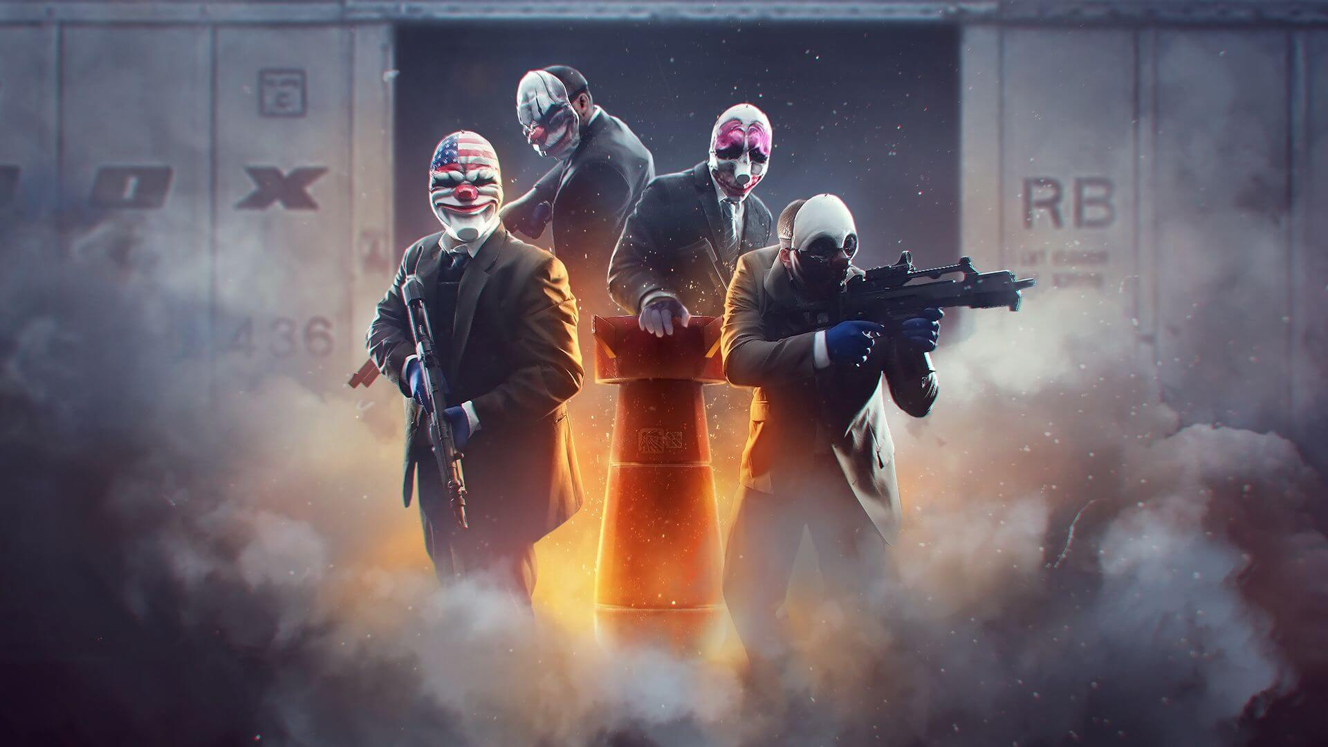 Payday 2 Turns Seven Years Old Today