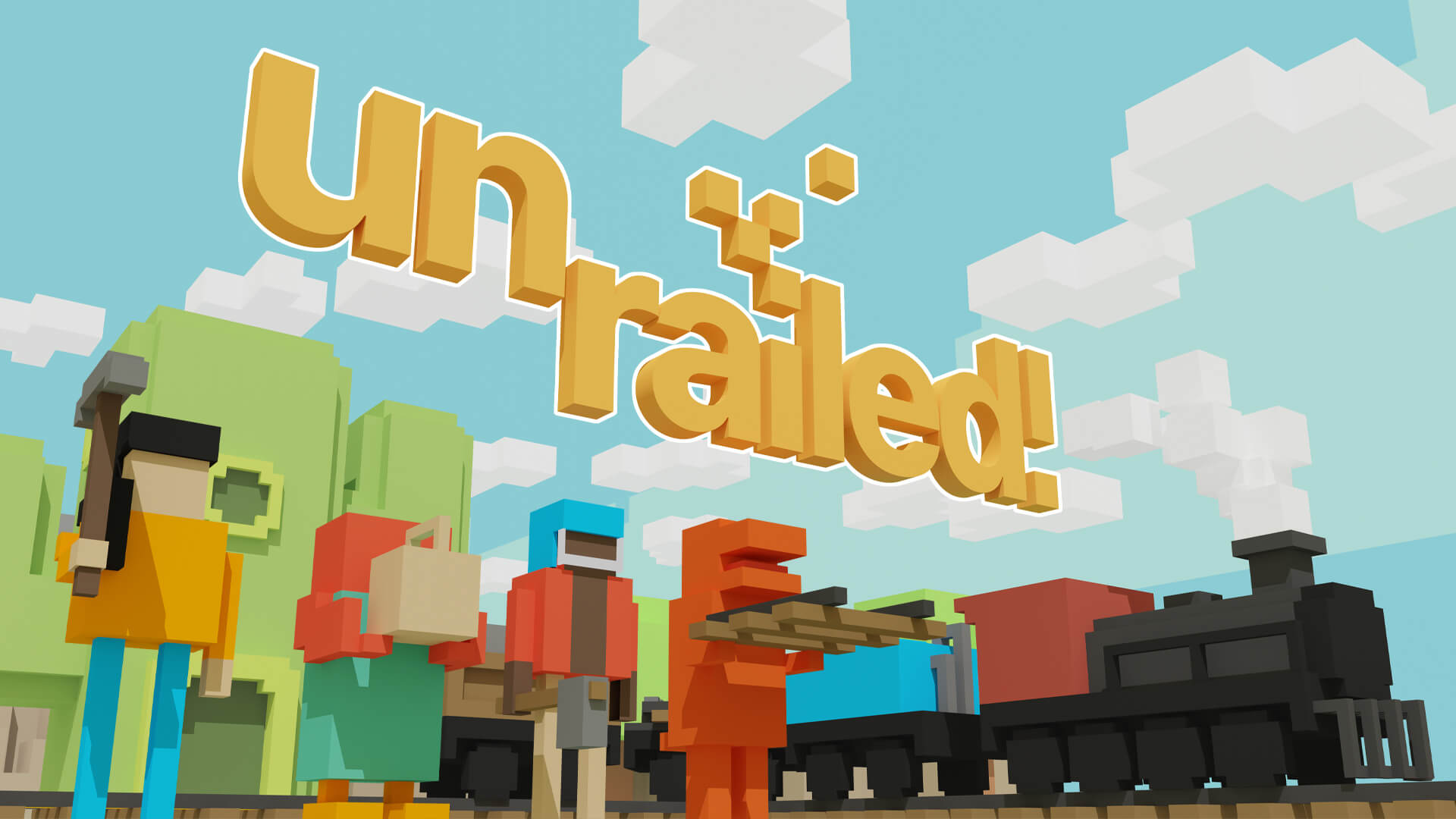 Unrailed Treks Onto Consoles and PC Next Month