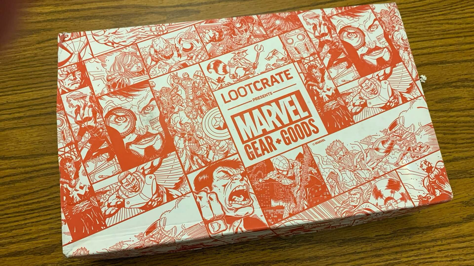 Marvel Gear and Goods by Loot Crate Review:  This is Red!