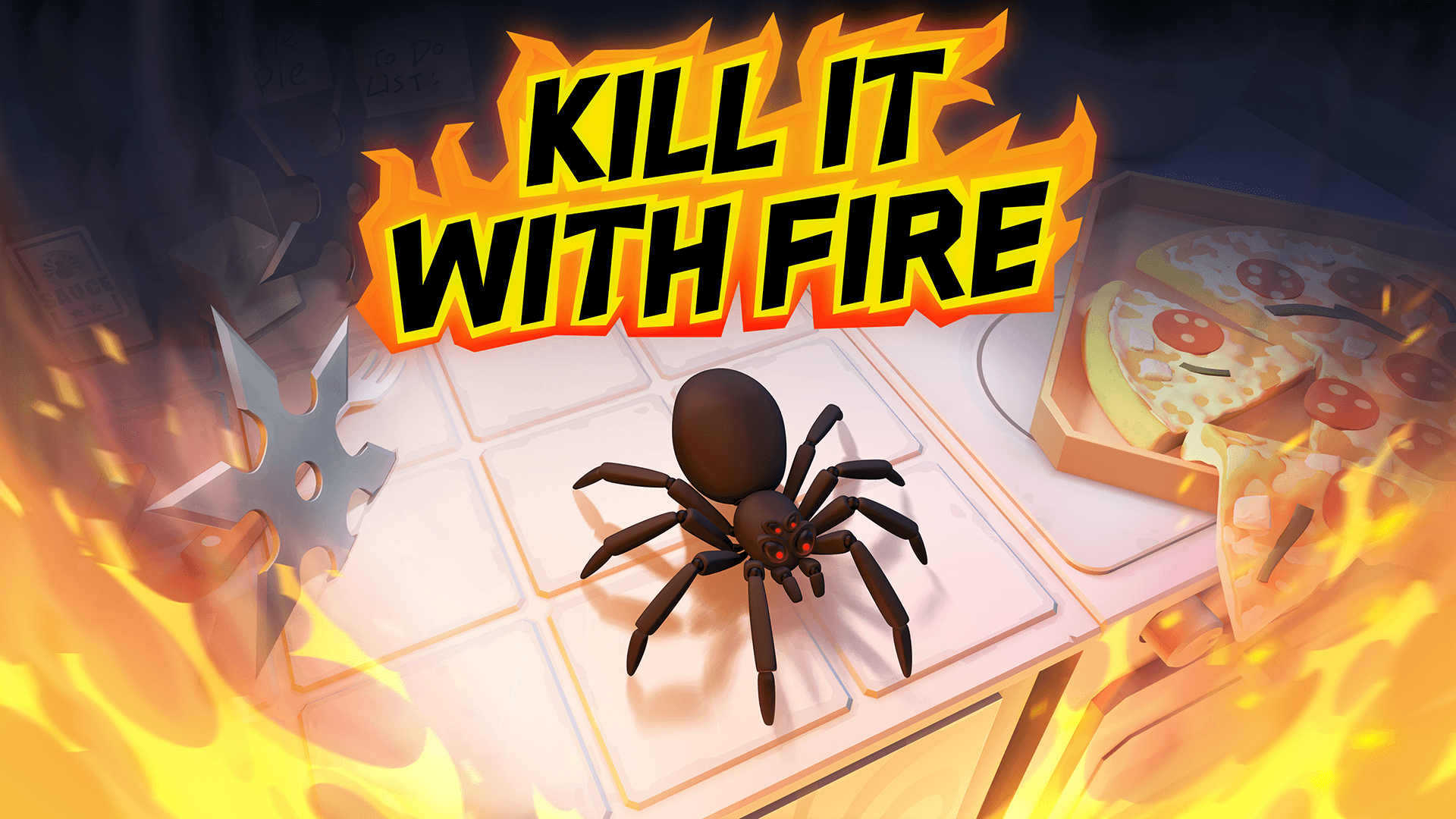 Kill It With Fire! Spider-fighting Simulator Out Now