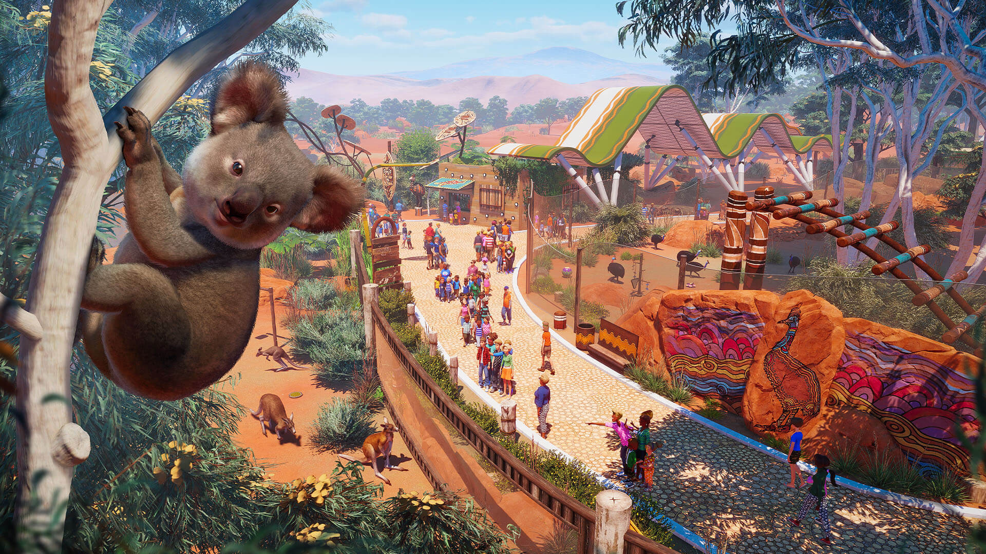 Planet Zoo: Australia Pack Coming Tuesday Alongside Free Update