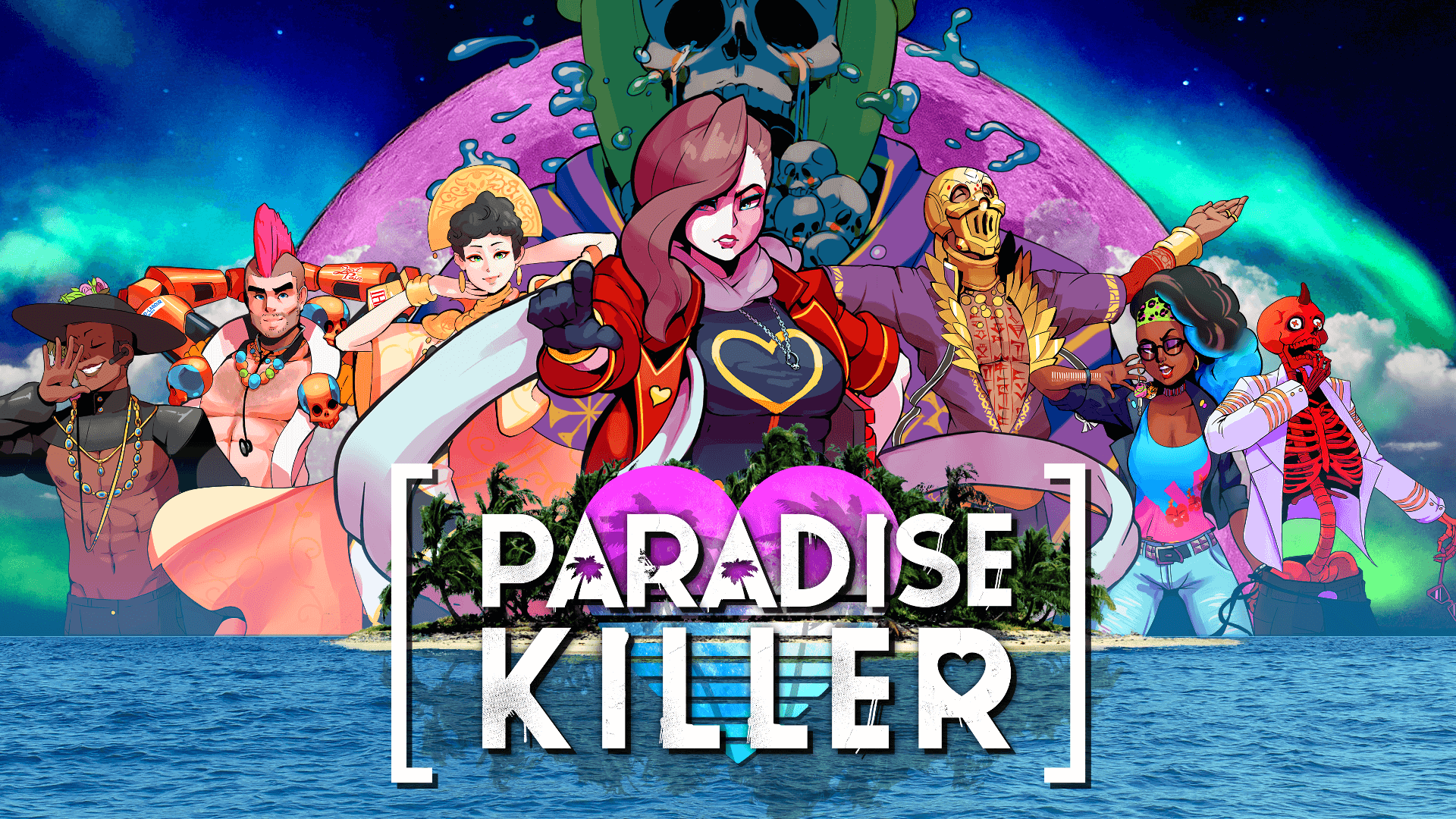 Paradise Killer Murder Mystery to Launch on Switch and PC