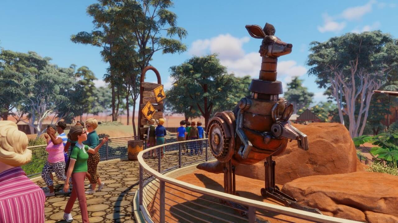 The Planet Zoo: Australia Expansion Is Here