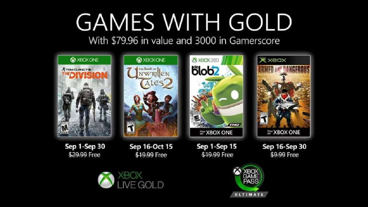 September 2020 Games with Gold is a Disappointment