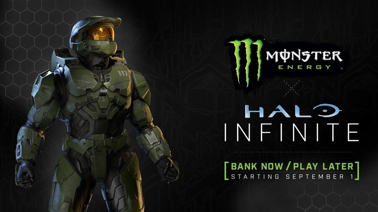 Halo Branded Monster Energy Drinks Now Available