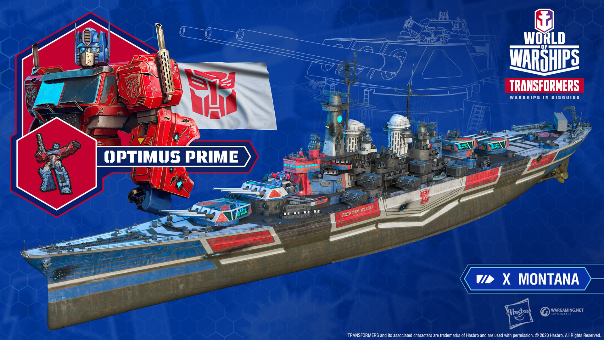 World of Warships Adds Transformers Characters
