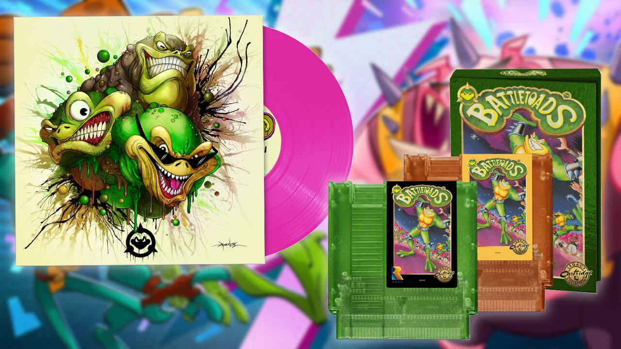 Battletoads Physical Edition and Vinyl Preorders Are Live