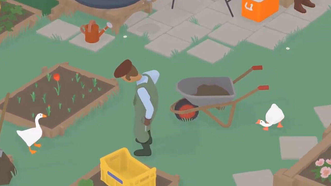 Untitled Goose Game Adds Free Multiplayer Mode to Switch, Physical Release Soon