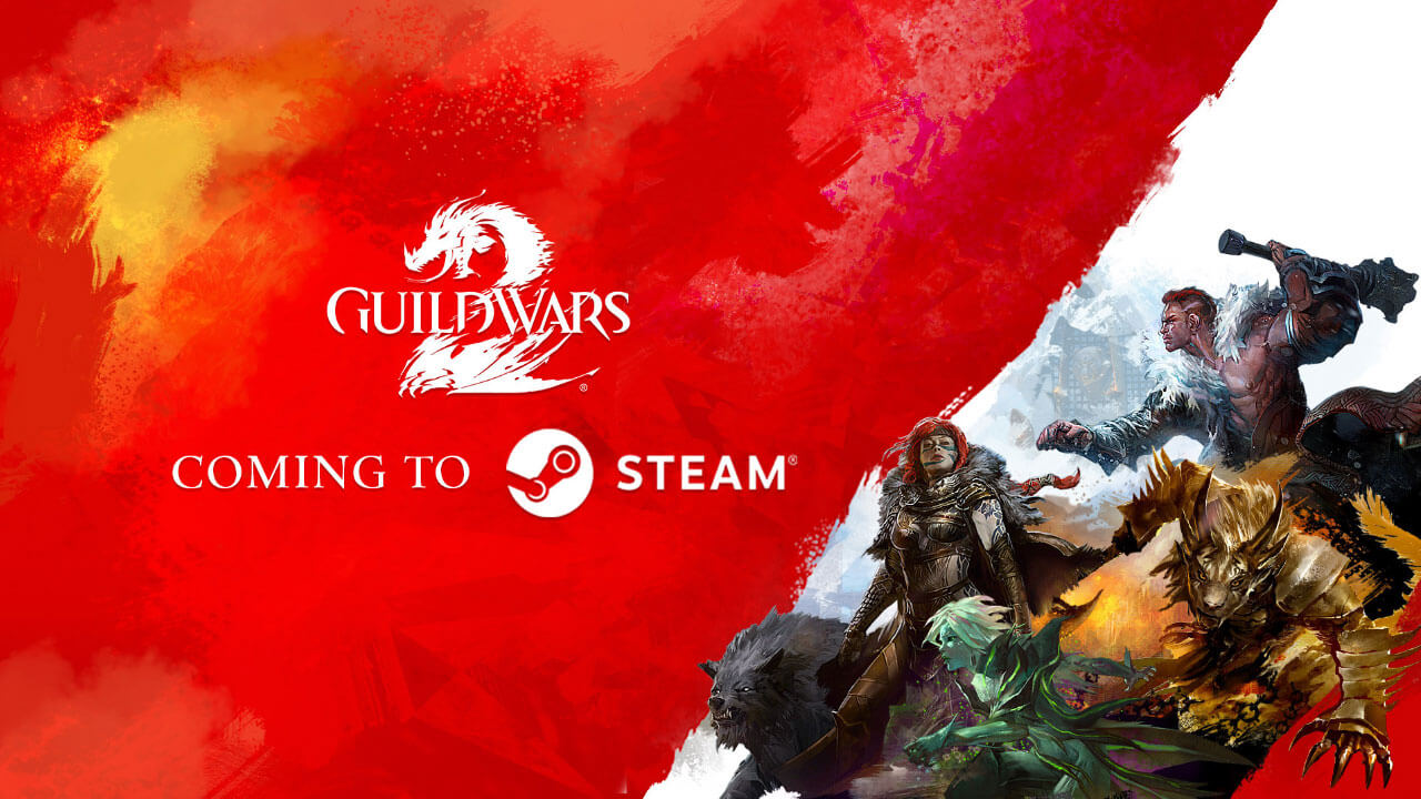 Guild Wars 2 Coming to Steam, Announced End of Dragons Expansion