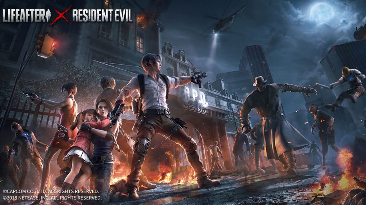 Resident Evil is Coming to Mobile in LifeAfter Collab