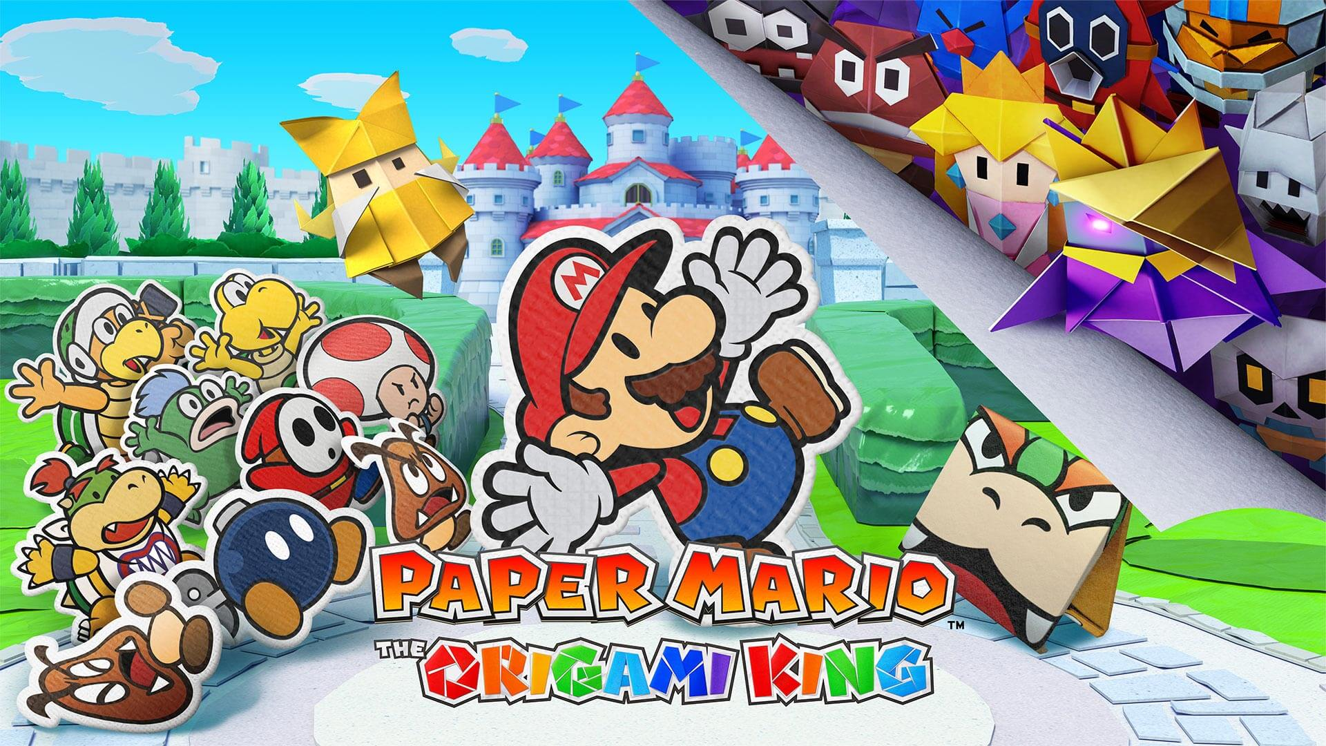 Paper Mario: The Origami King Fastest Selling in Series