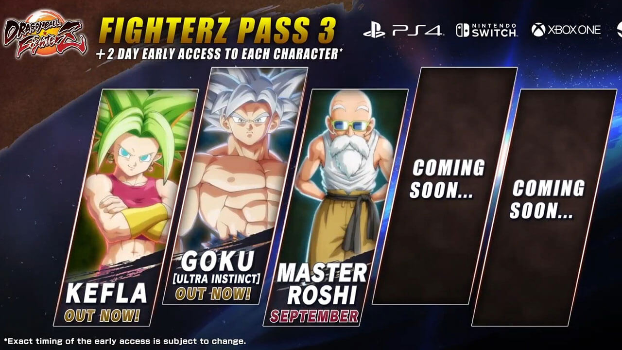 DragonBall FighterZ Adds Master Roshi This September