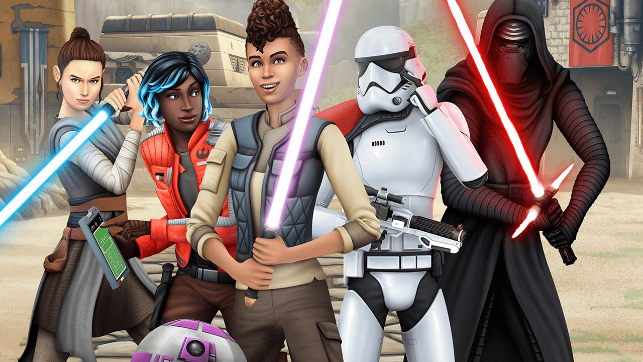 The Sims 4 Star Wars: Journey to Batuu Has Arrived