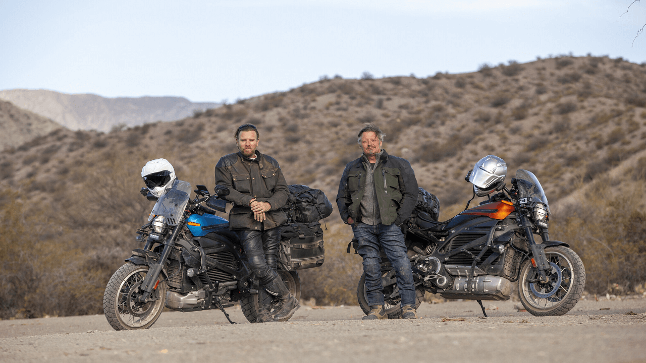 Long Way Up Features Ewan McGregor and Charley Boorman Adventuring