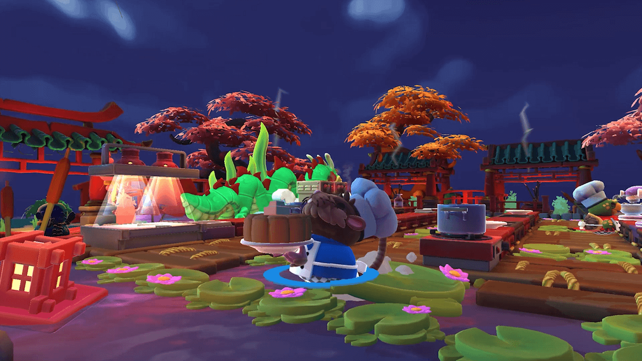 Overcooked! 2 Announces Free Moon Harvest Update