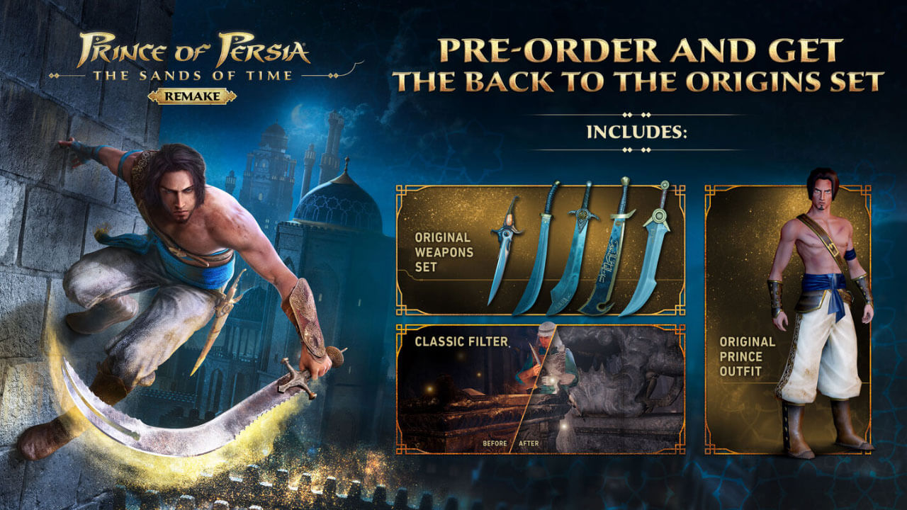 Prince of Persia Remake Preorder