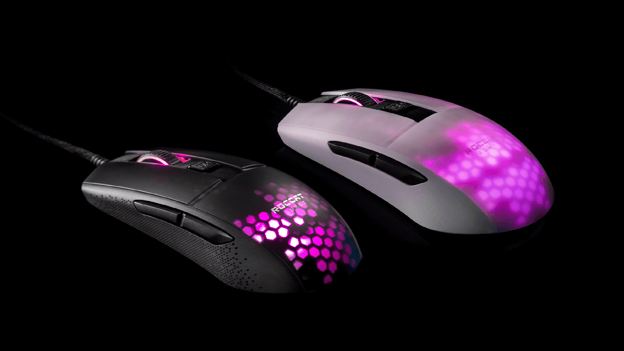 New ROCCAT Burst Pro PC Gaming Mouse Revealed