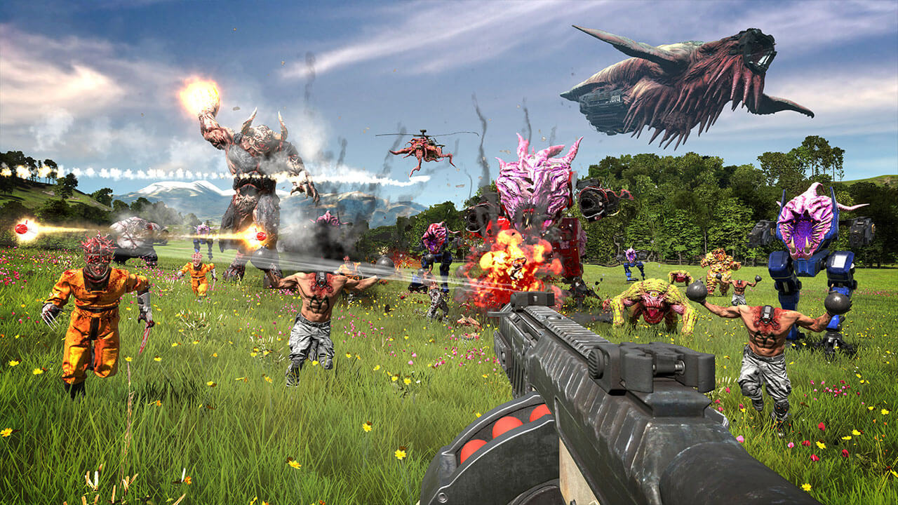 Serious Sam 4 Blasts Off Onto Steam and Stadia Today