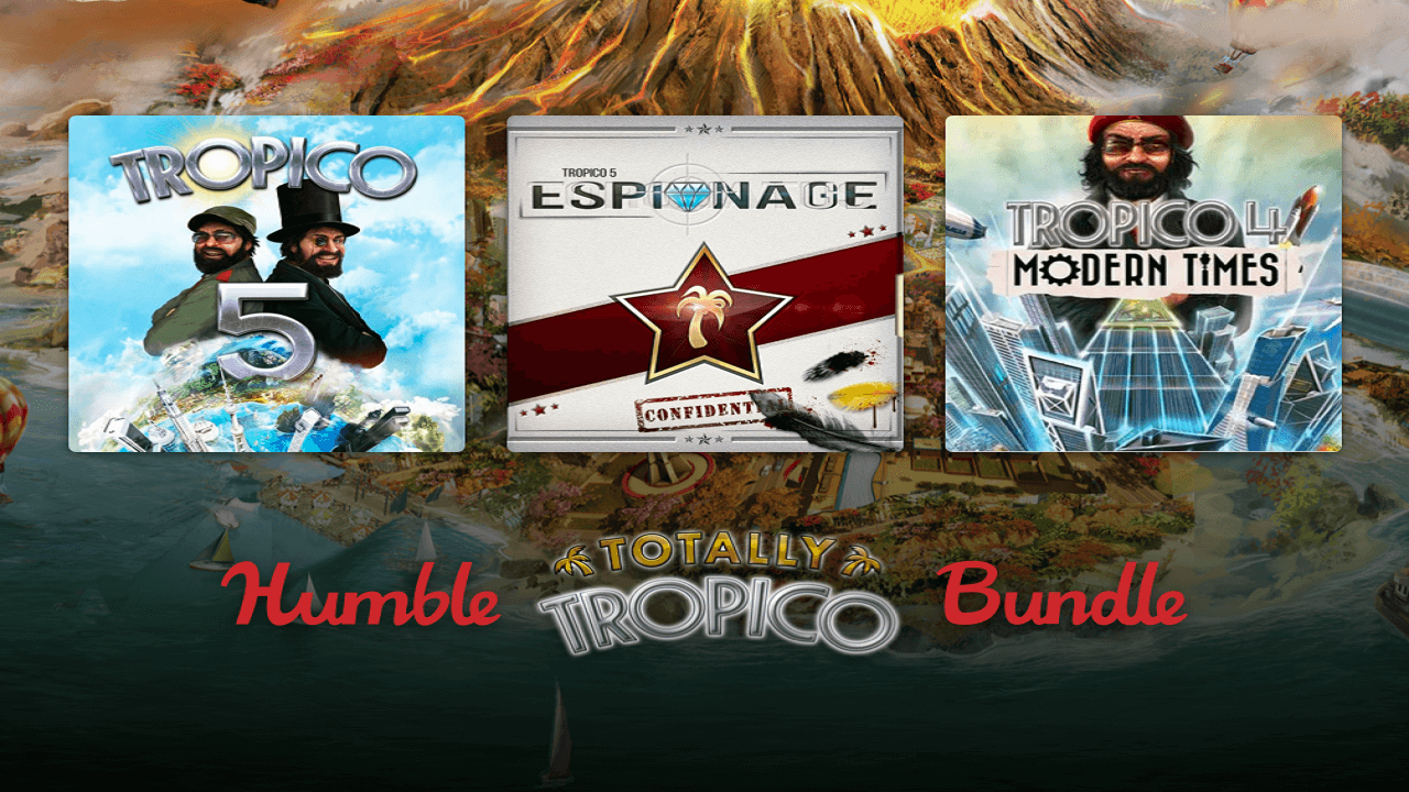 Humble Totally Tropico Bundle is Now Available