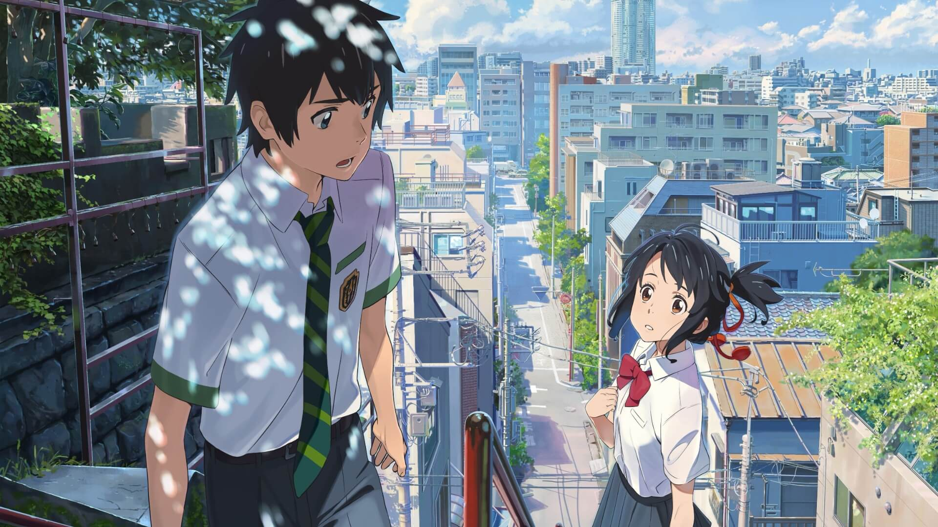 Anime Film Your Name is Getting a Live-Action Remake