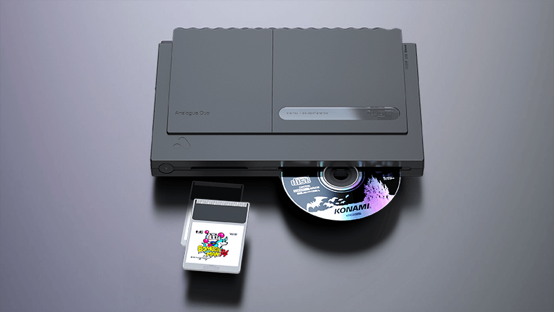 Analogue Duo: The New All-In-One TurboGrafx Console