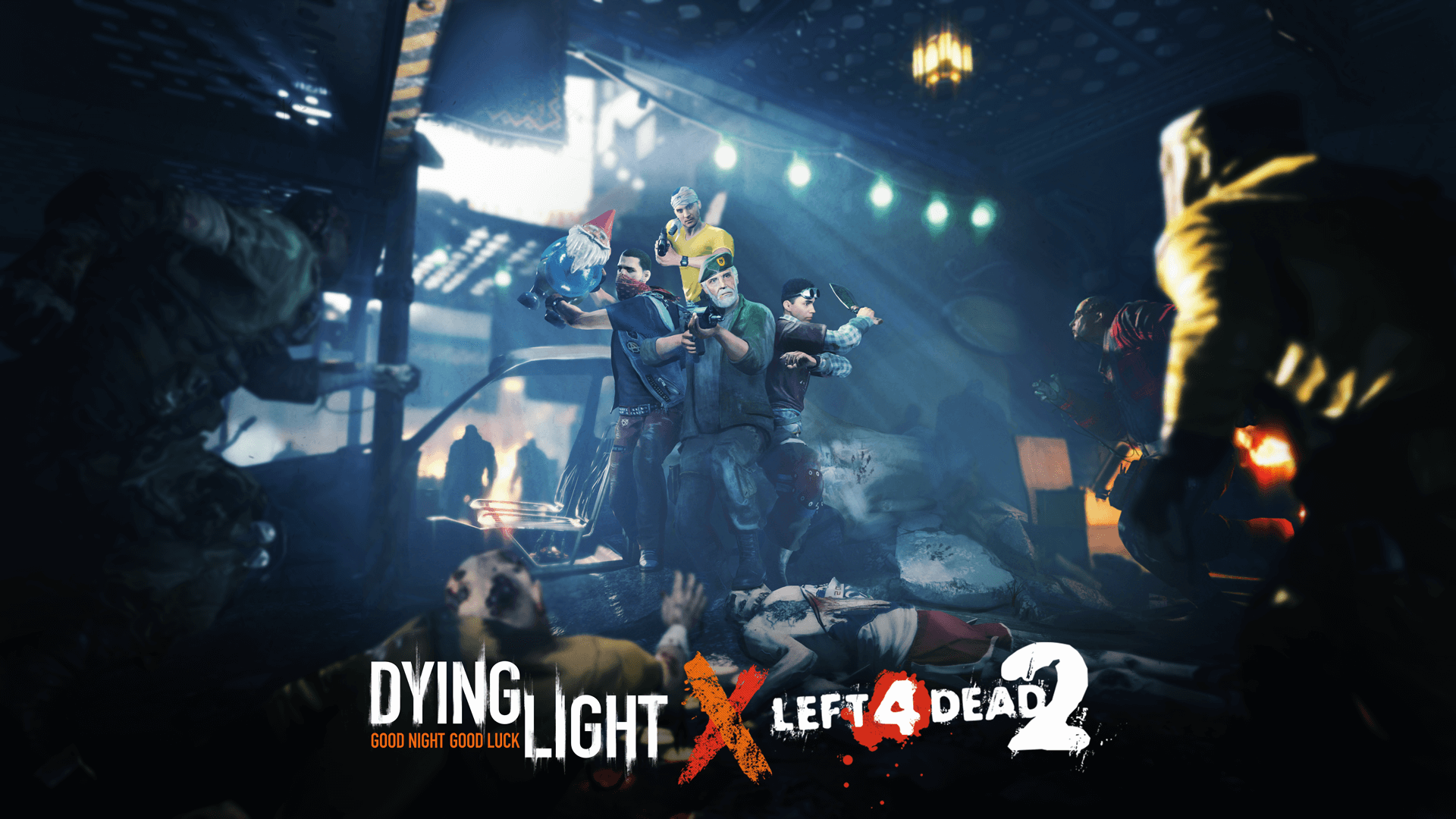 Dying Light and Left 4 Dead 2 Are Teaming Up Again