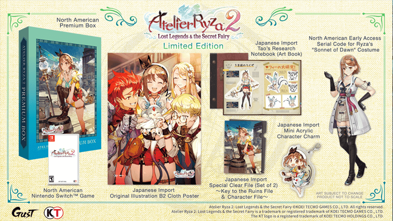 Atelier Ryza 2 Launches On January 26 In North America