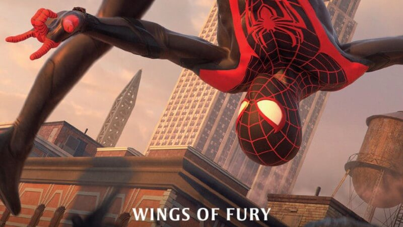 Miles Morales - Wings of Fury Book Cover