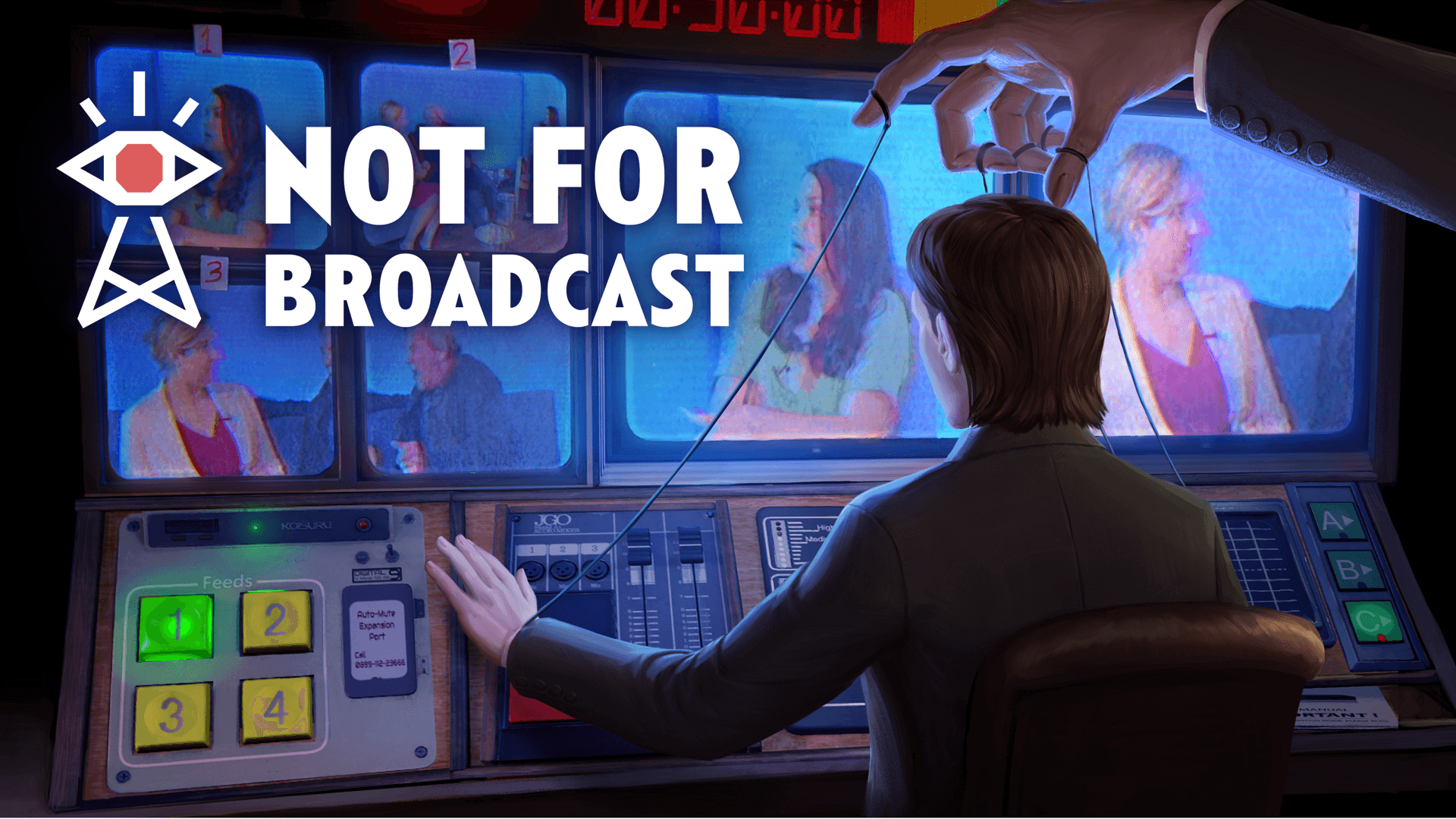 Not for Broadcast Review: Controlling the Airways