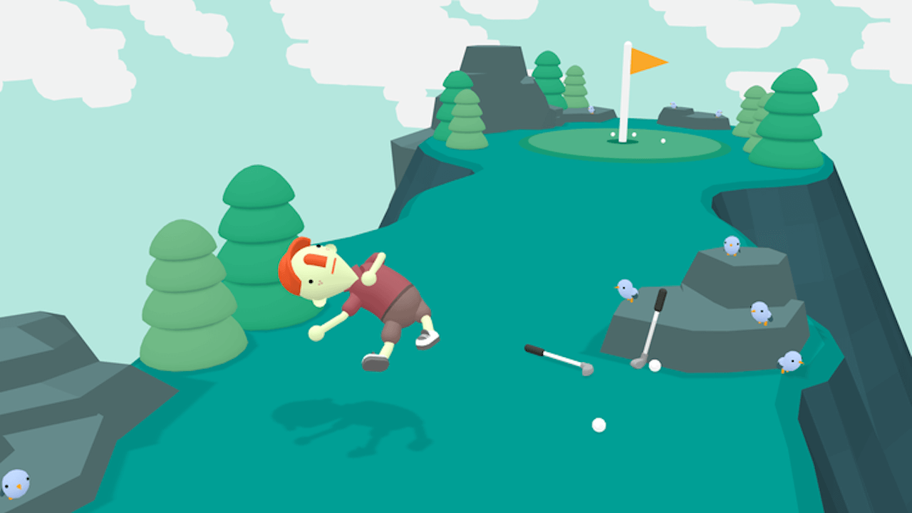 What the Golf Out Now On Steam with New Level Editor