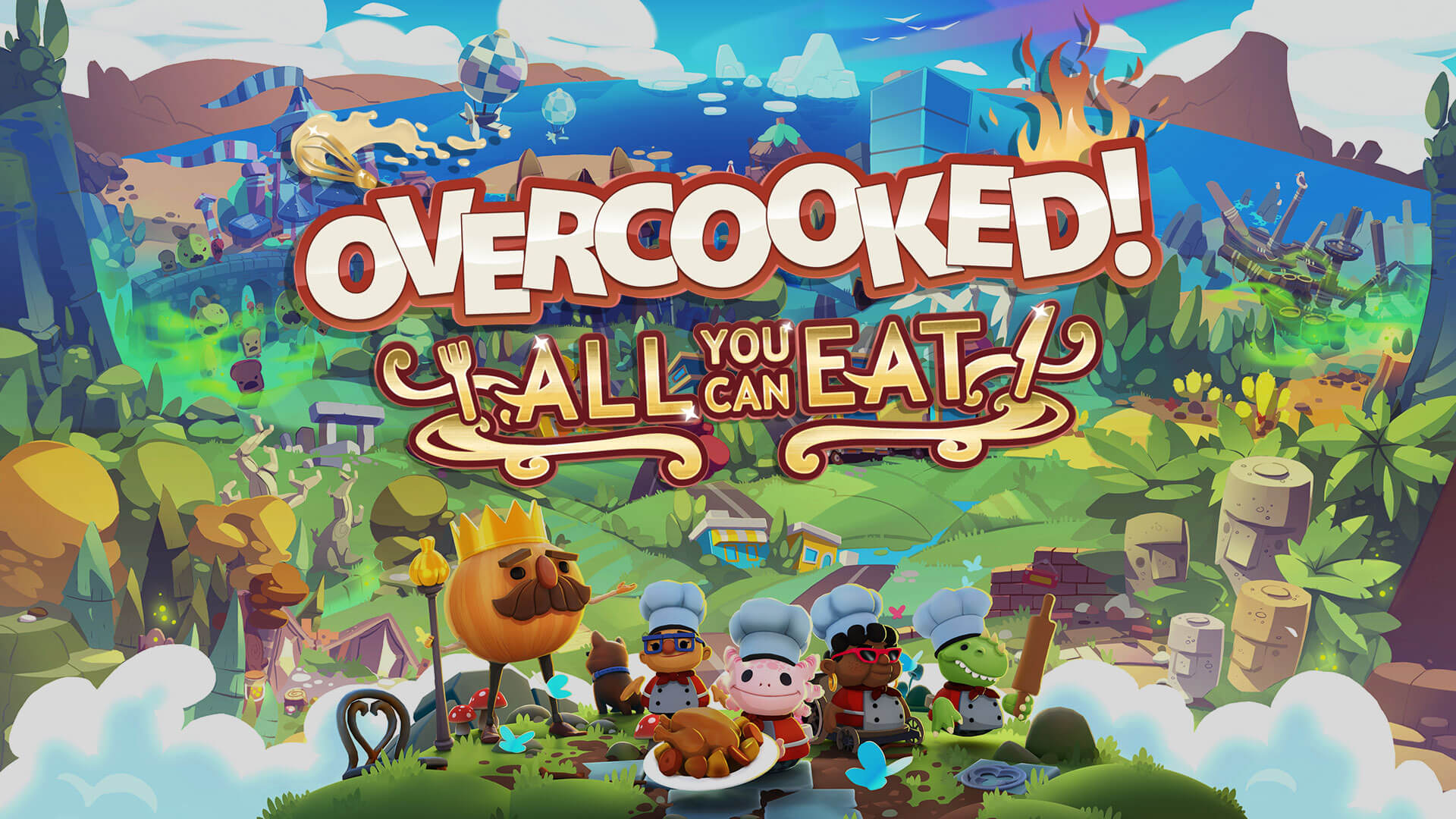 Overcooked All You Can Eat Will Get Exclusive Content