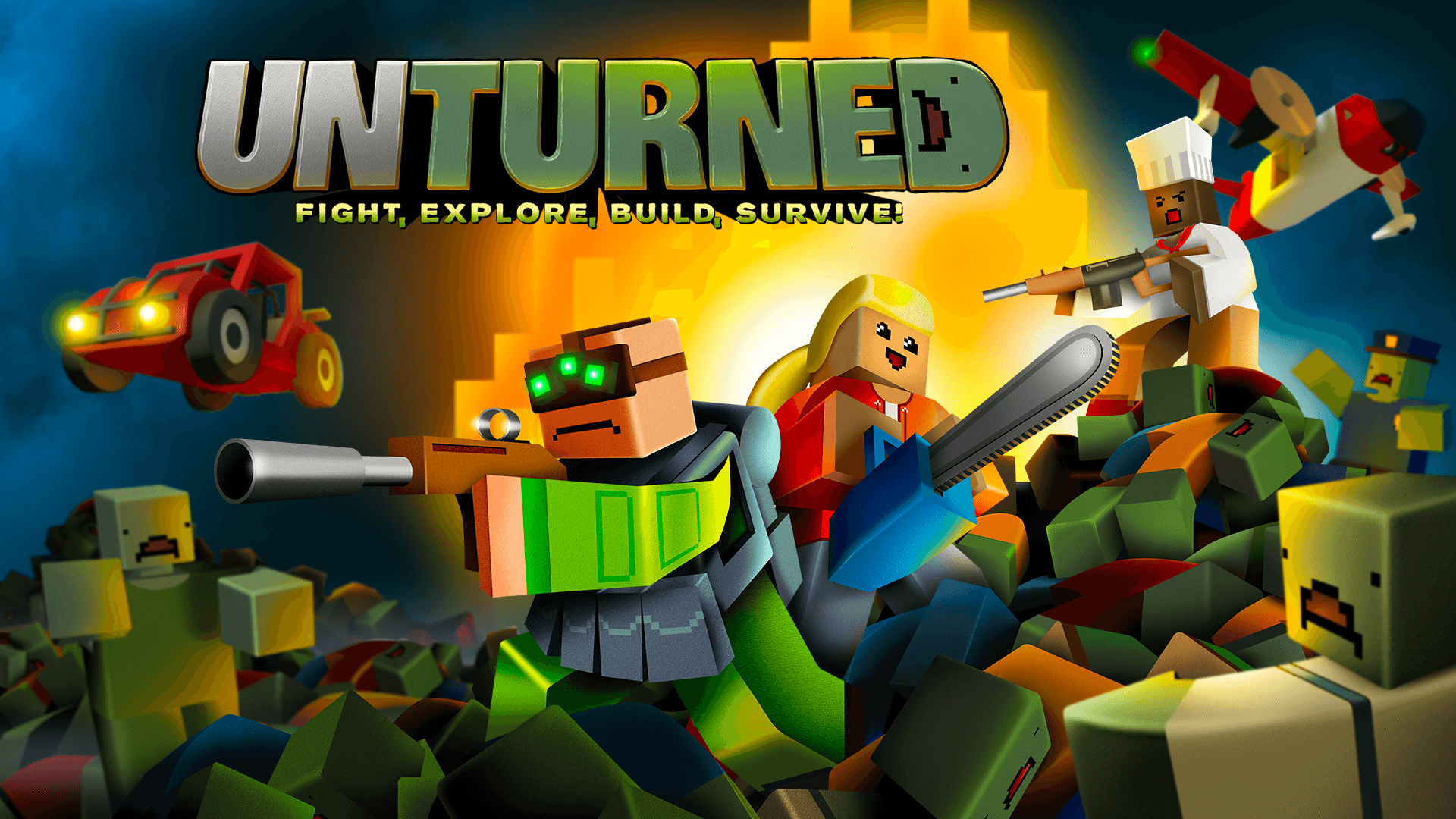 Unturned Launches on PS4 and Xbox One Next Month