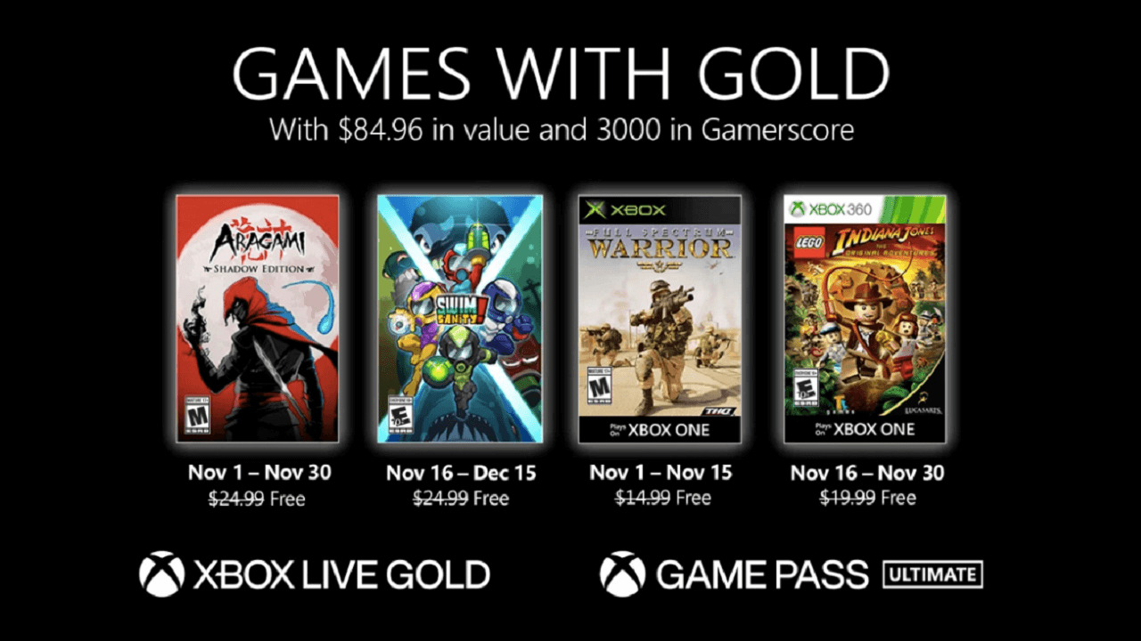 November 2020 Games with Gold Offers Great Indies