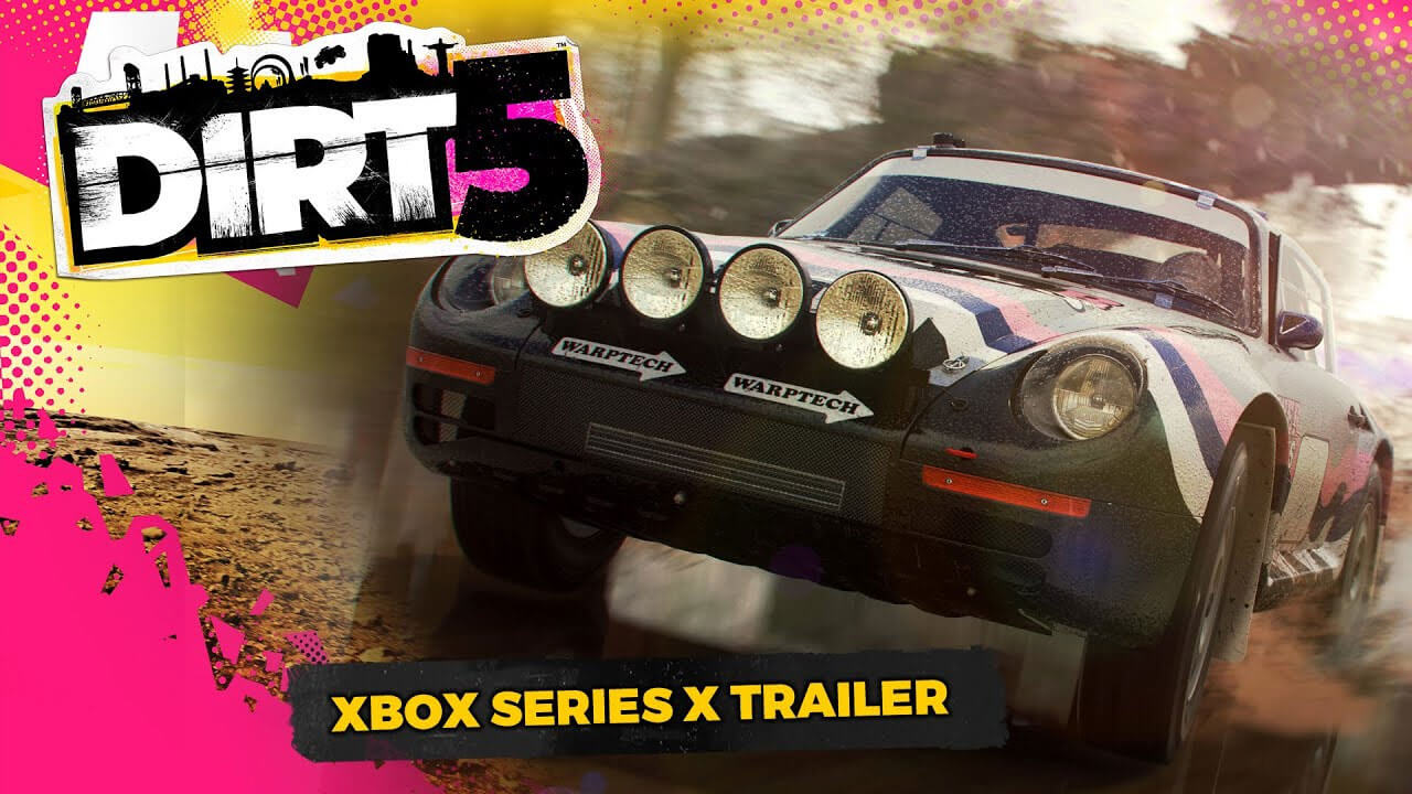 DIRT 5 Gets 120 FPS and 4K on the Xbox Series X
