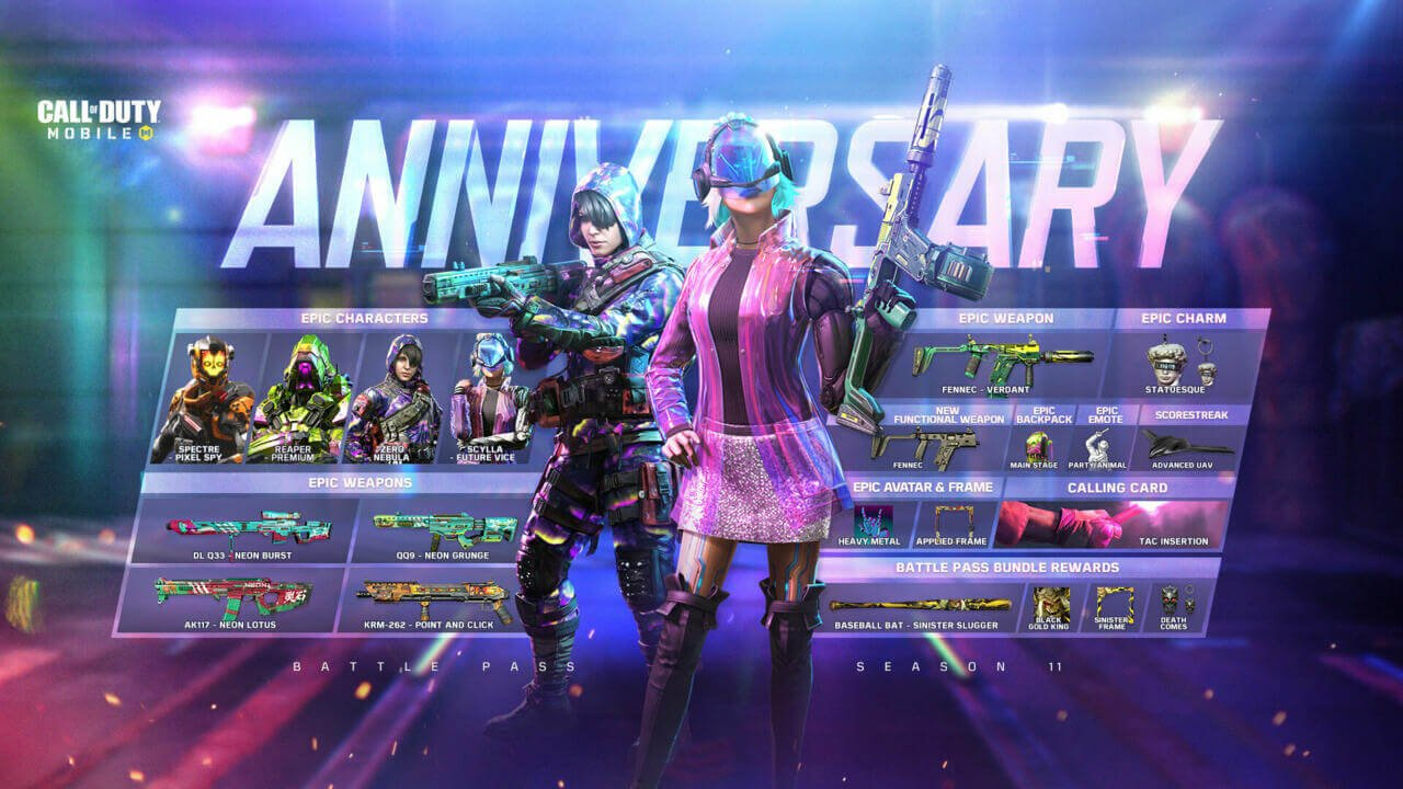 Call of Duty: Mobile Celebrates One Year Anniversary