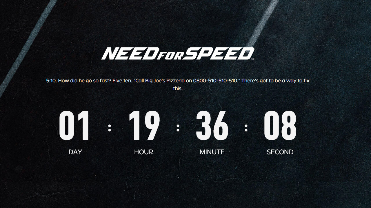 Need For Speed is Getting An Announcement Soon