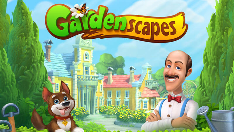 Top iPhone Games September 2020 Gardenscapes