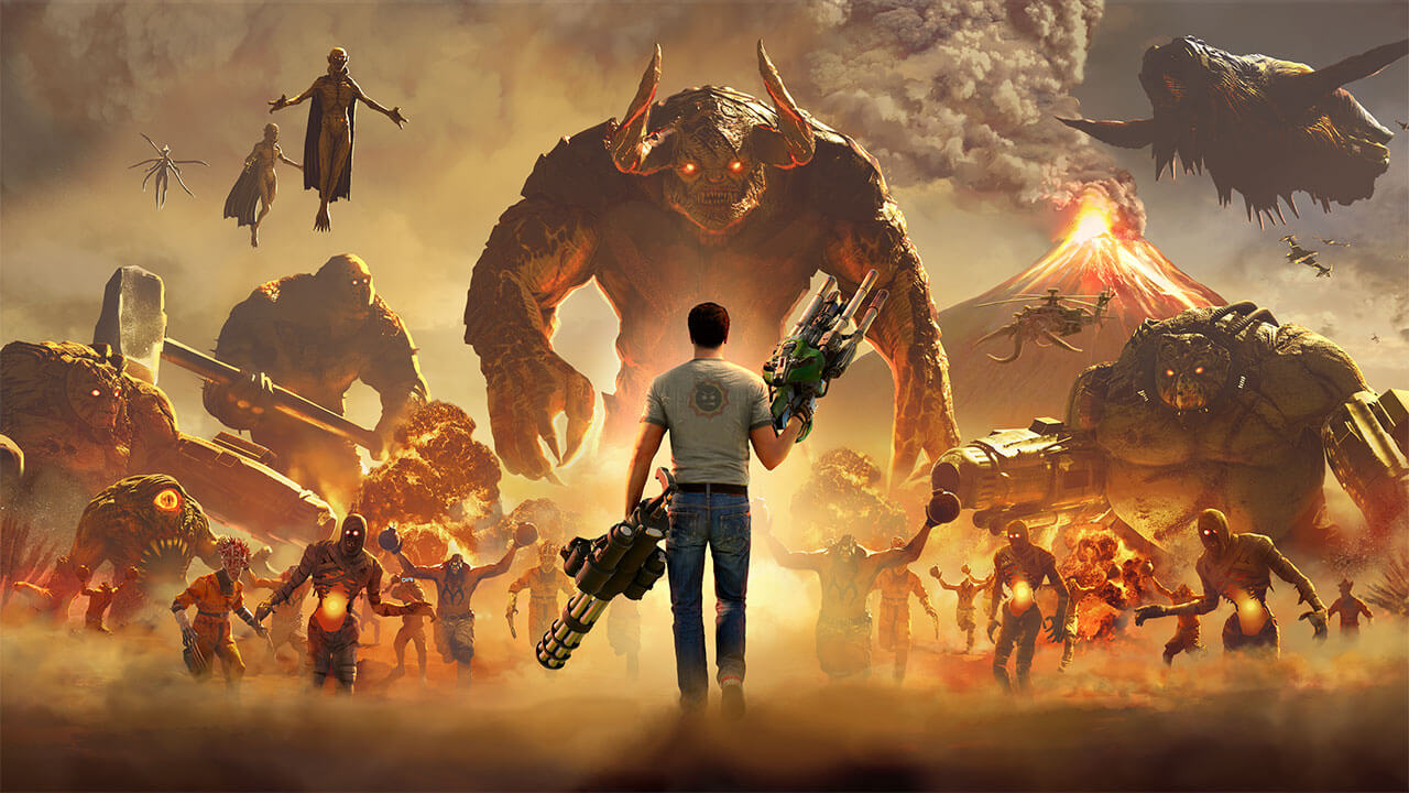 Serious Sam 4 Review: Time To Get Serious