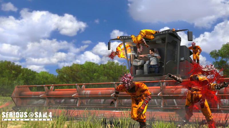Serious Sam 4 Review vehicle level