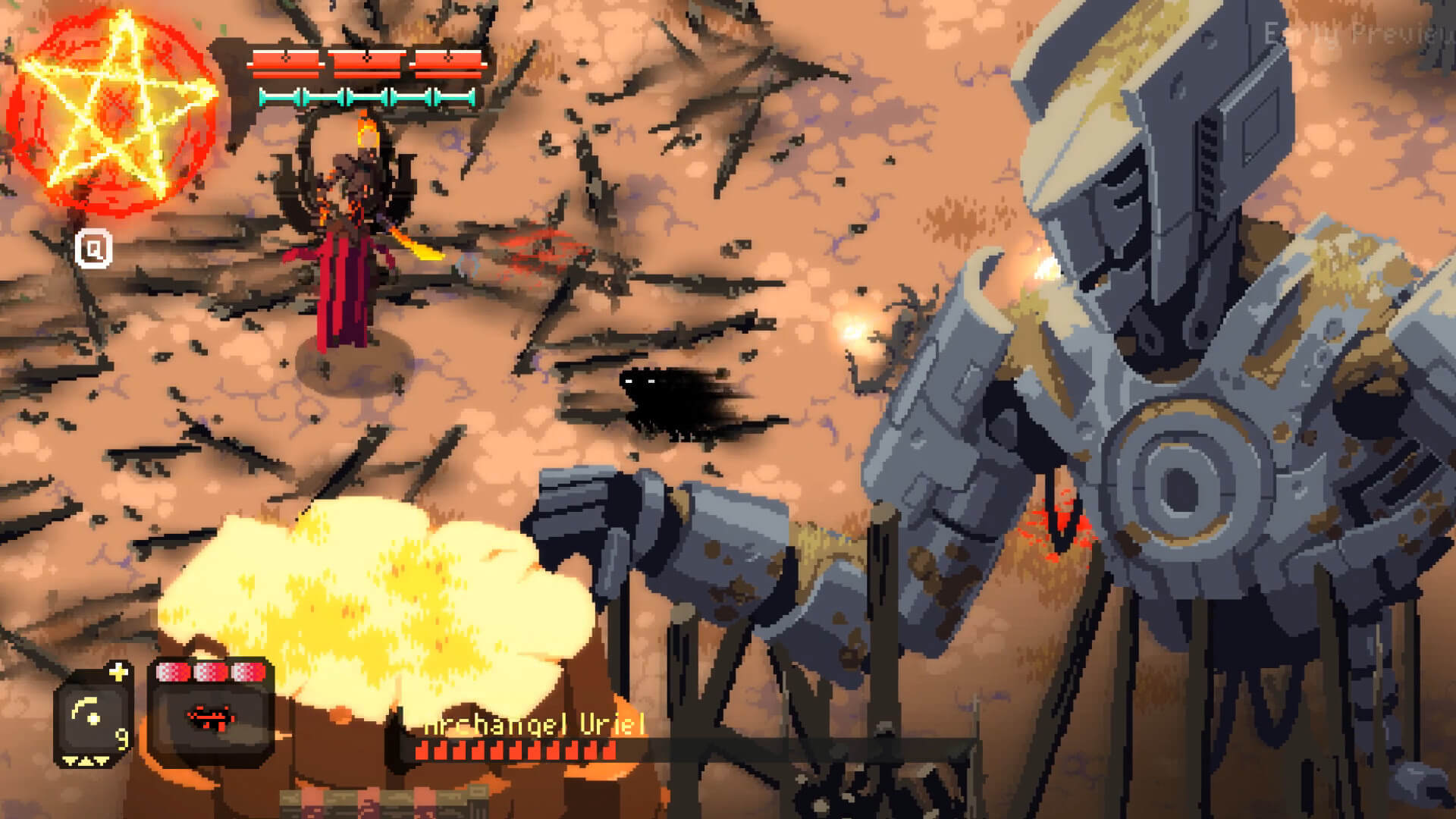 Fallen Angel Releases on PC Through Steam Today