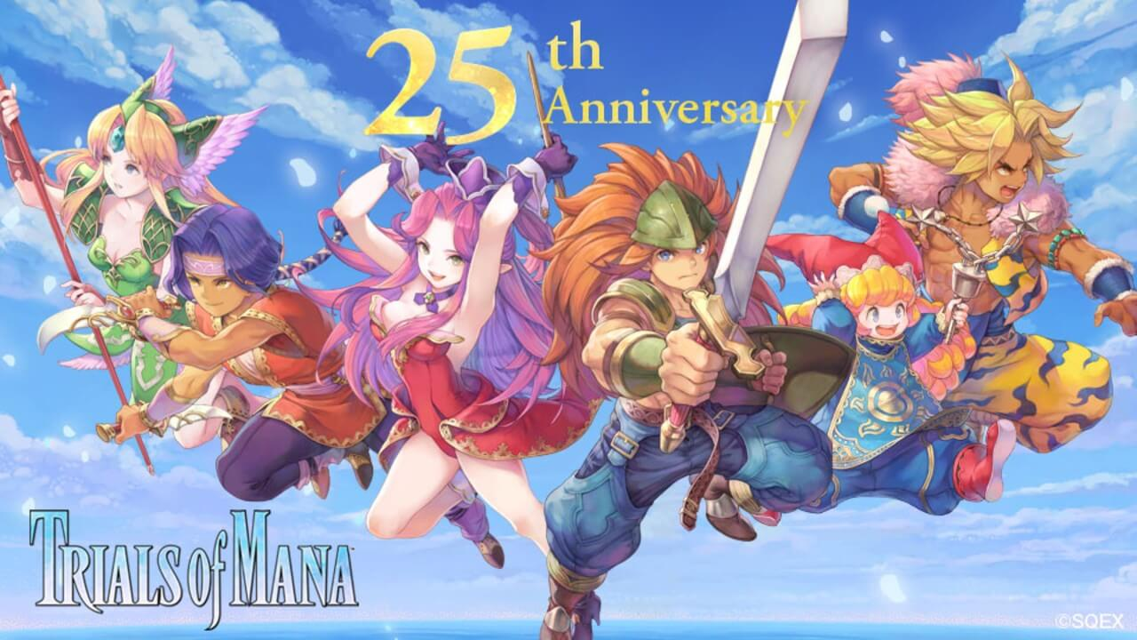 Trials of Mana 25th Anniversary Update and Discounts